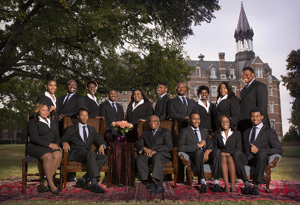 The Fisk Jubilee Singers in 2016. Photo by Bill Steber and Pat Casey Daley