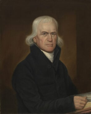 Portrait of Francis Asbury in 1813 by John Paradise. Image courtesy of National Portrait Gallery/Creative Commons