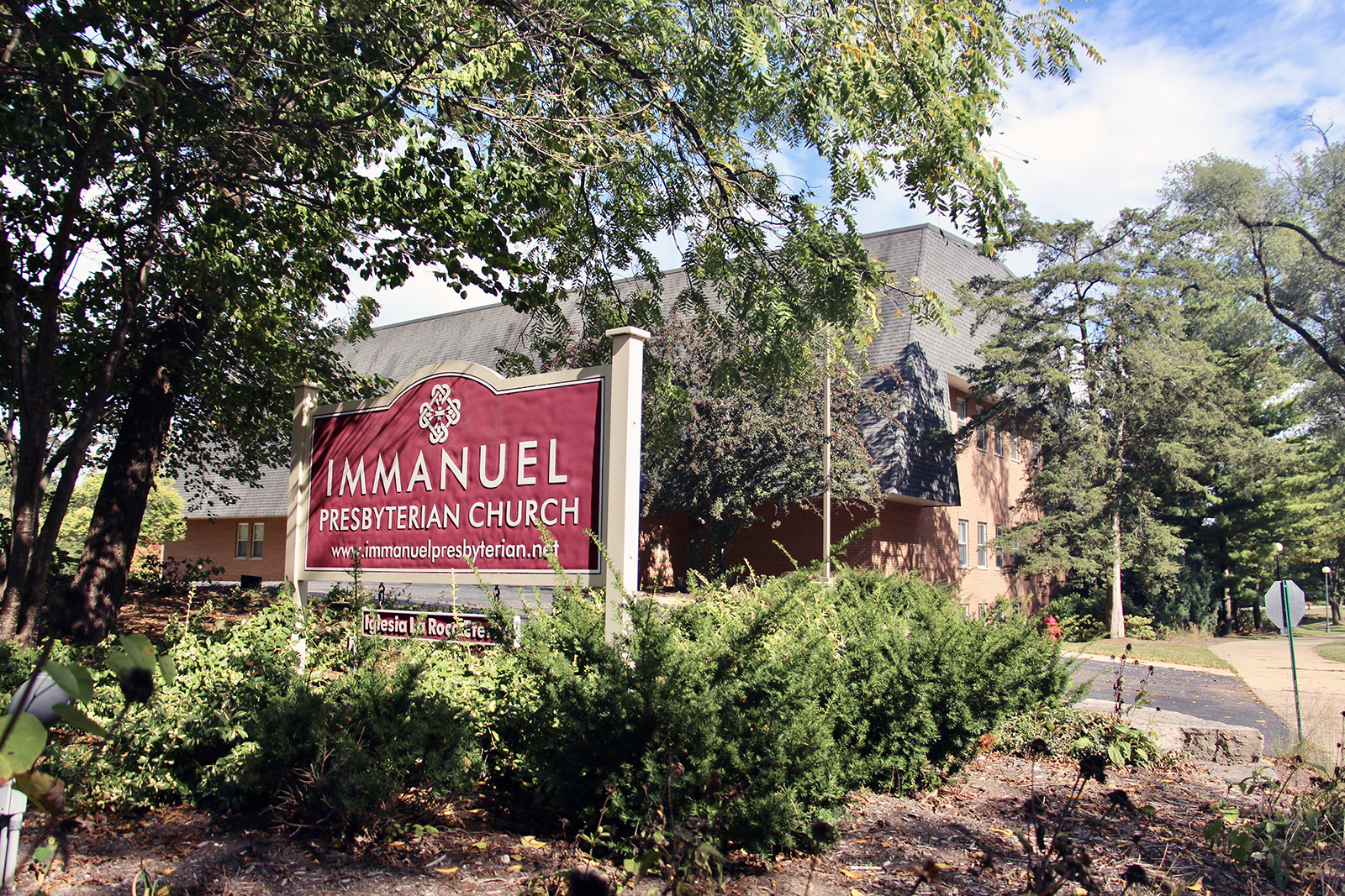 Immanuel Presbyterian Church in Warrenville, Illinois, on Sept. 23, 2021. RNS photo by Emily McFarlan Miller
